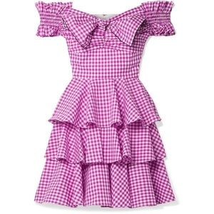 Carolina Constas Helena gingham dress! Sz xs 🌟
